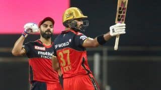 IPL 2021: Ton-up Devdutt Padikkal, Run-Machine Virat Kohli Power RCB to 10-Wicket Win Over RR to go Top of Points Table